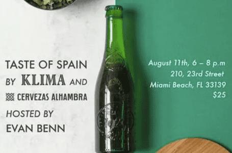 Taste of Spain at Klima