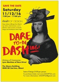 "DASH ""Taste of Design"" at the Moore Building on Saturday, November 12, 2016"