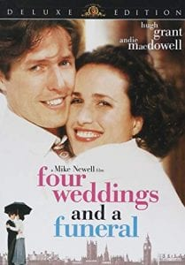 On Valentine's Day Spend an evening under the stars with your toes in the sand for a screening of 'Four Wedding and a Funeral,' the classic romantic comedy starring Hugh Grant and Andie MacDowell at Edition Miami Beach.