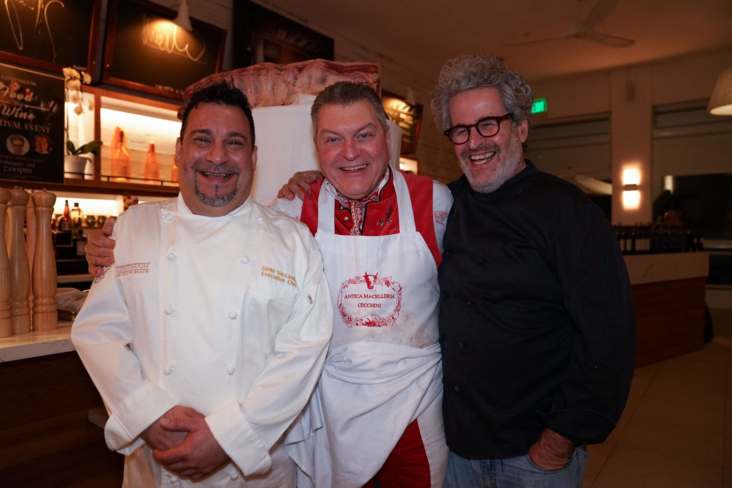Iconic SOBEWFF Master Chefs Dario Cecchini and Eyal Shani Dazzle at the Continuum