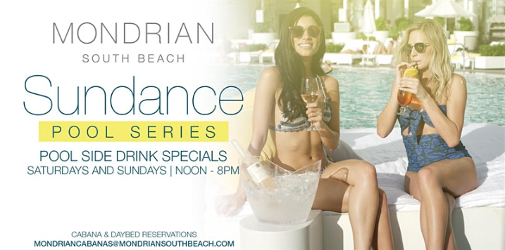 Located on newly-fashionable West Avenue, Mondrian South Beach continues its legendary pool series.