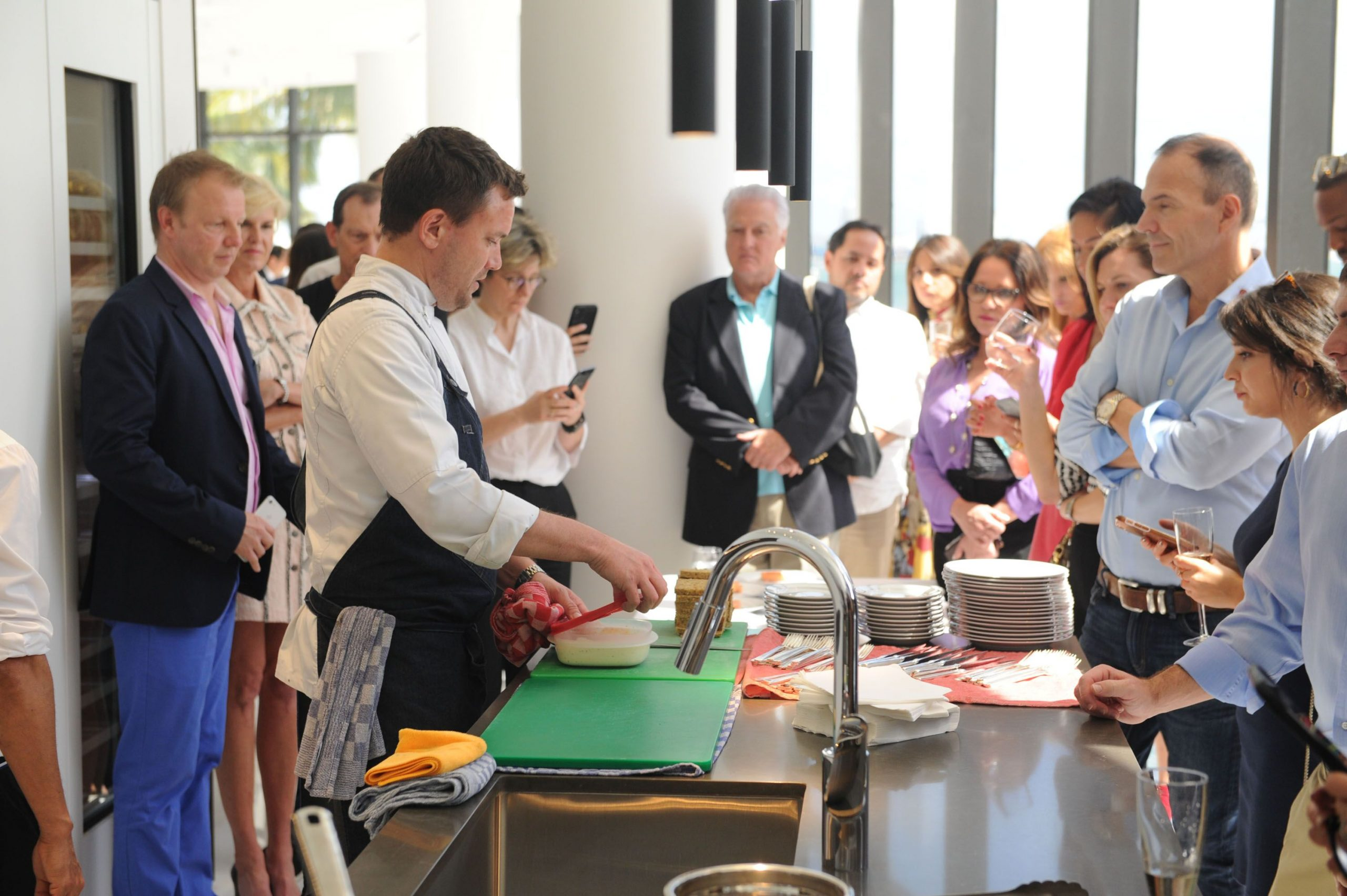 Intimate cooking demonstration kicks-off the annual week of Wine & Food festivities