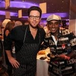 Scott Conant and Marcus Samuelsson attending the SOBEWFF in Miami Beach