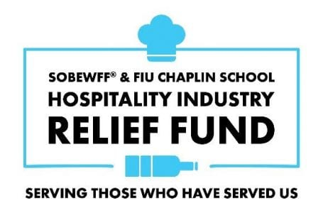 SOBEWFF® & FIU Chaplin School Hospitality Industry Relief Fund Receives $5 Million Grant from Miami-Dade County
