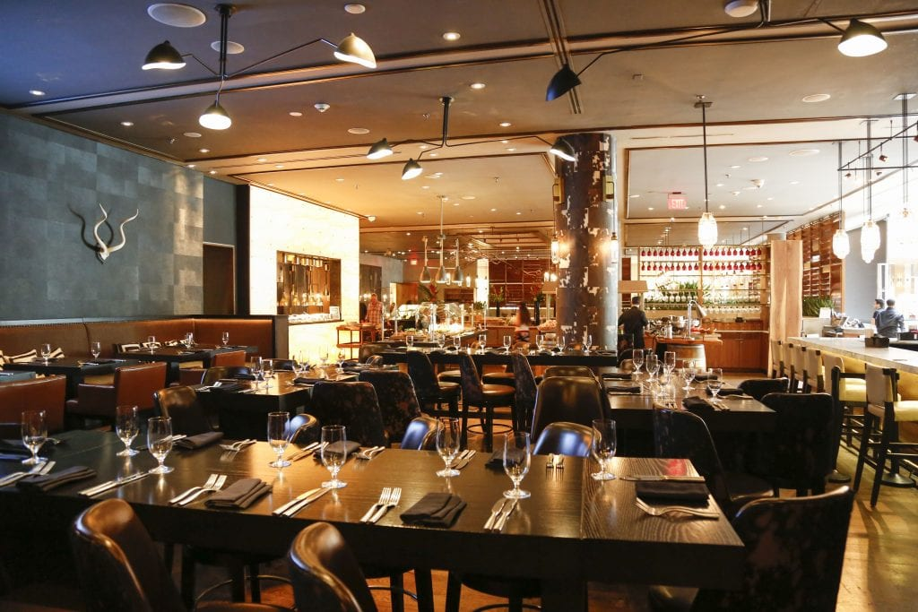 Upmarket Pan-Latin chophouse & bar offering steaks & cocktails at the Intercontinental Hotel.