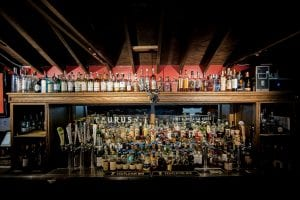 Whiskey/beer specialist with patio offering eclectic American fare & events (comedy, karaoke, etc).