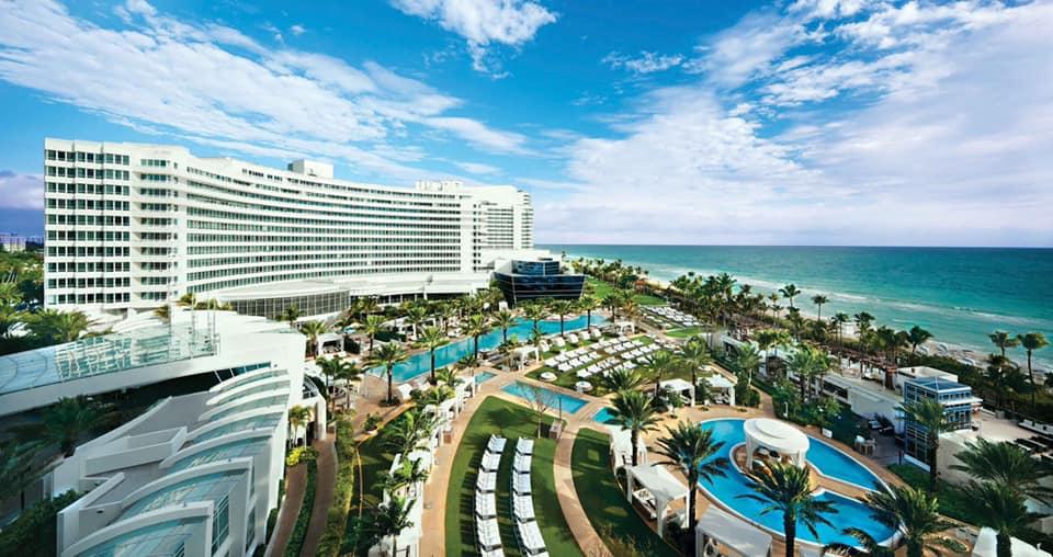 Fontainebleau Miami Beach Address: 4441 Collins Ave, Miami Beach, FL 33140