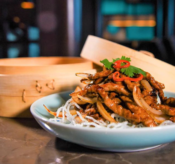 Hakkasan Miami, Chic, exotic restaurant at the Fontainebleau Hotel serving modern Cantonese fare & weekend dim sum.