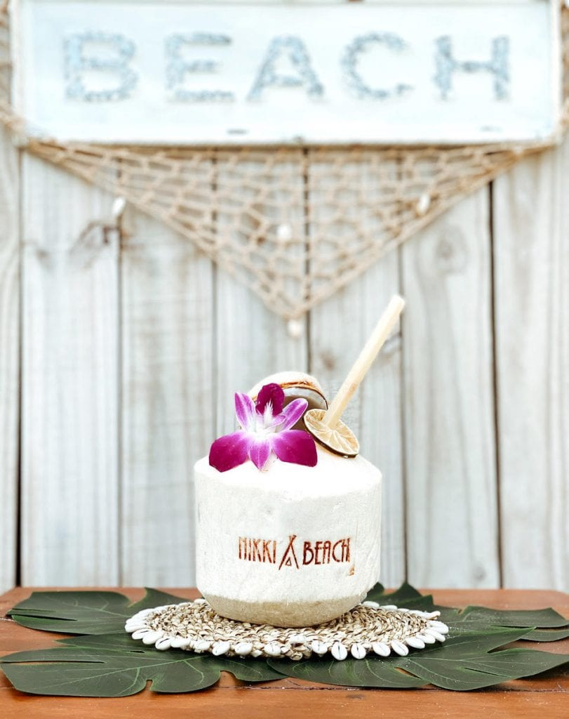 Nikki Beach Celebrates World Coconut Day