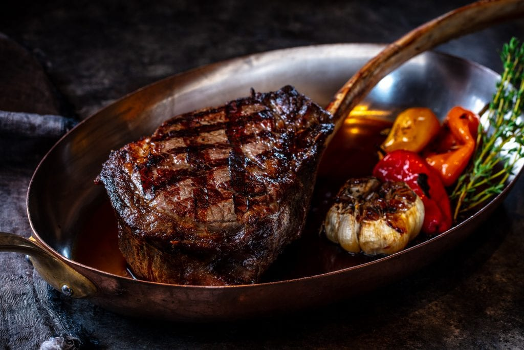 Bourbon Steak Tomahawk