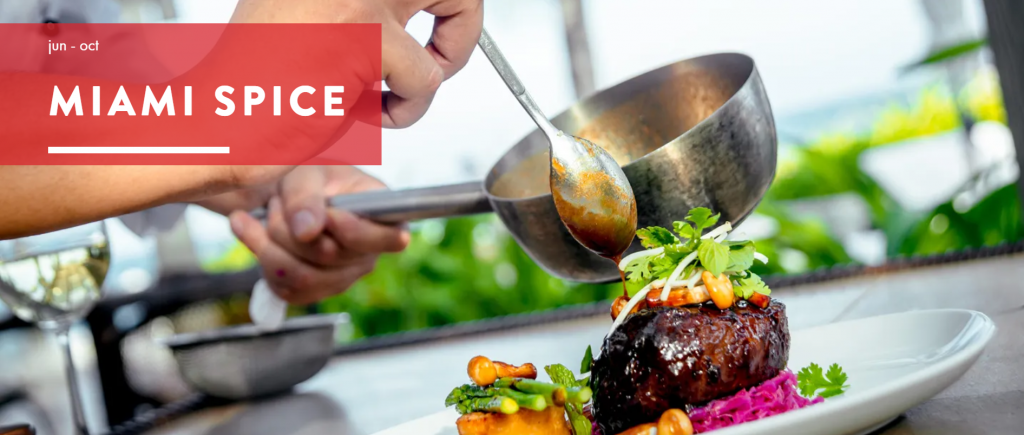 Miami Spice Restaurant Months is officially extended till October 31, 2020!