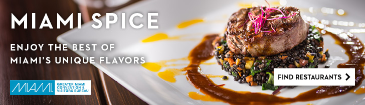 Miami Spice is officially extended till October 31, 2020!