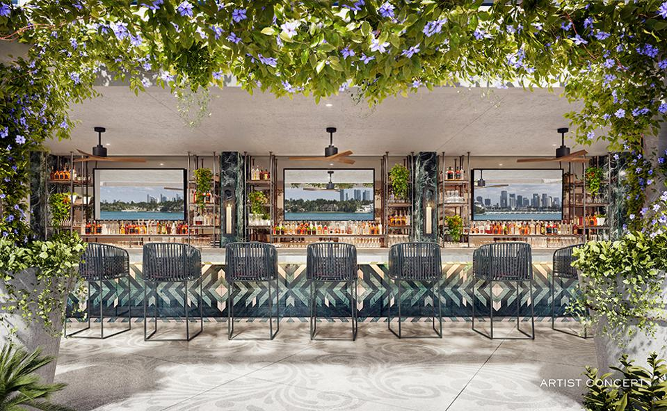 The Newly Renovated Mondrian South Beach