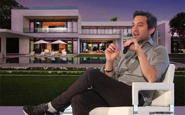 Billionaire Shutterstock founder pays $42M for Miami Beach mansion, marking record