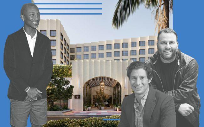 Pharrell, David Grutman partner with developer to launch South Beach hotel