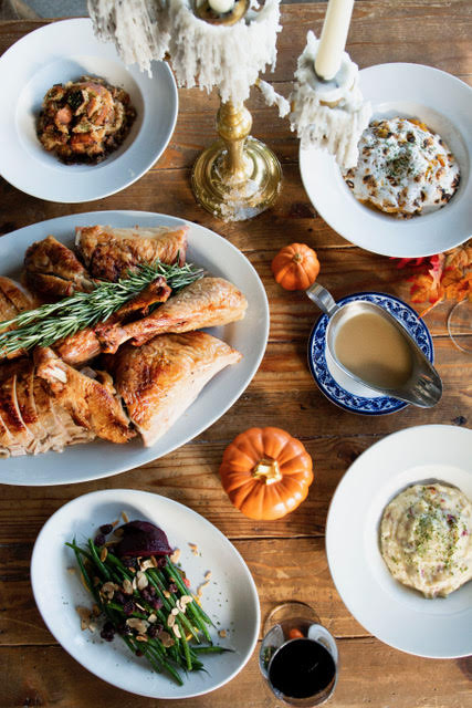 Chef Rhee's Annual Thanksgiving Dinner on The River