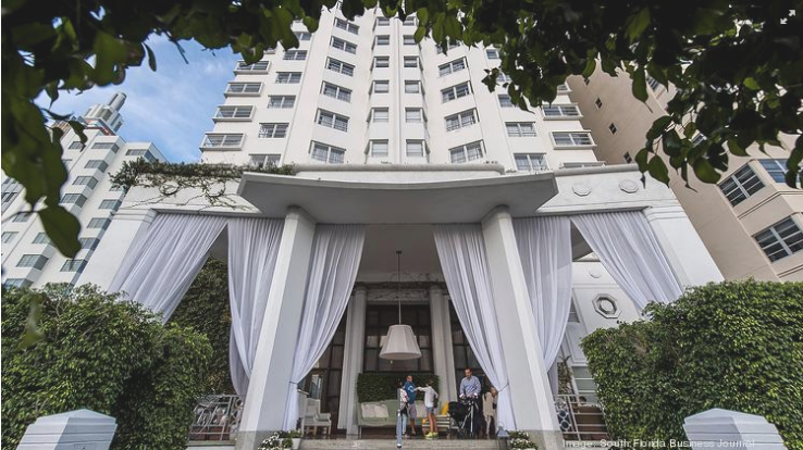 SBE sells Delano South Beach hotel to Eldridge