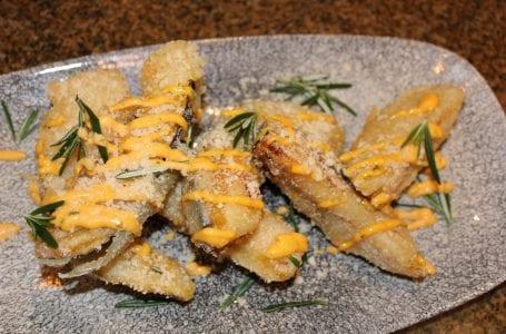 Toro Toro Acorn Squash Tempura Fritters Recipe
