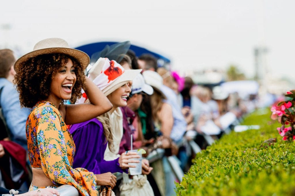 Pegasus World Cup Crowd