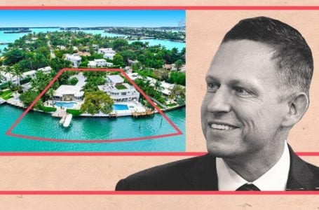 PayPal co-founder Peter Thiel revealed as buyer of Miami Beach mansions