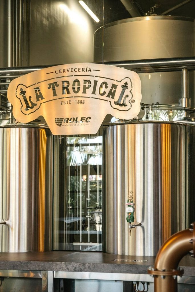Cervecería La Tropical will celebrate its grand opening in South Florida on February 19, 2021