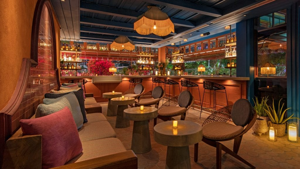 Serena at Moxy South Beach, an enchanting open-air rooftop restaurant and bar by The Coyo Taco Group