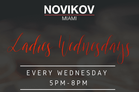 BoyChoy Pop-Up at Novikov Miami for Ladies Night