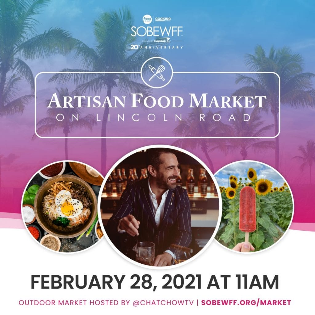 SOBEWFF® Artisan Food Market on Lincoln Road