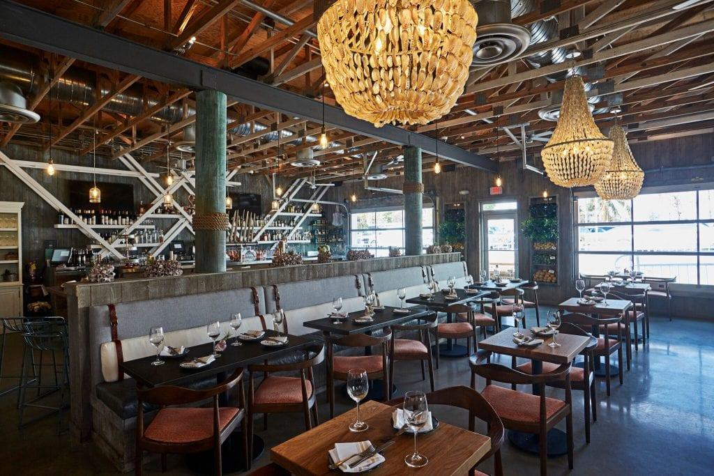 Stiltsville Fish Bar Dining Room