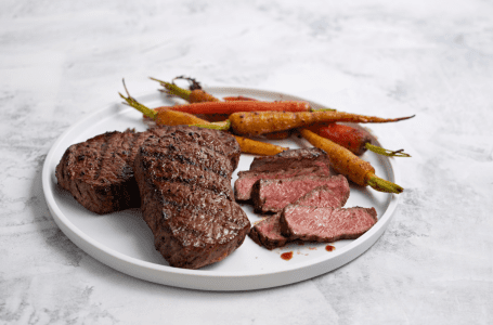 Wild Fork Ribeye Filet with Caramelized Cumin Roasted Carrots Recipe – Nationwide