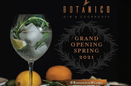 Botánico Gin & Cookhouse to Open in CocoWalk Spring 2021