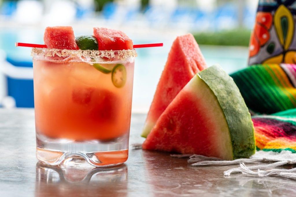 Cantina Beach Watermelon Margarita