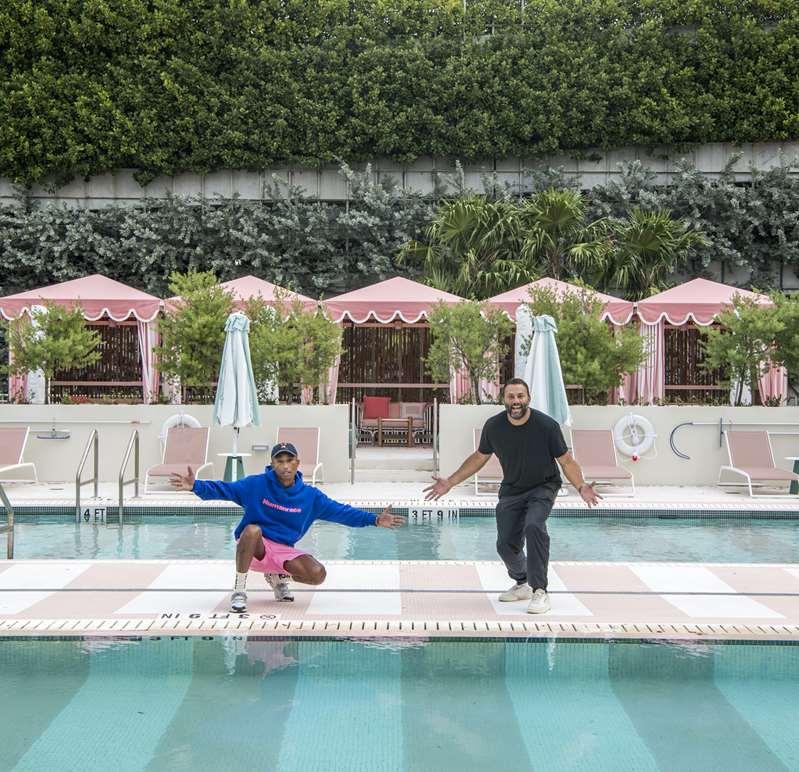 Pharrell Williams & David Grutman open Goodtime Hotel in Miami Beach