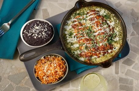Celebrate Cinco de Mayo with this Enchilada Recipe from Serena at Moxy