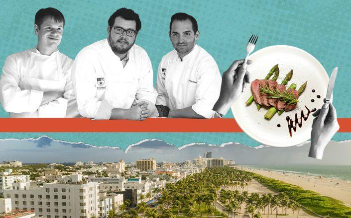 Major Food Group partners Rich Torrisi, Jeff Zalaznick and Mario Carbone