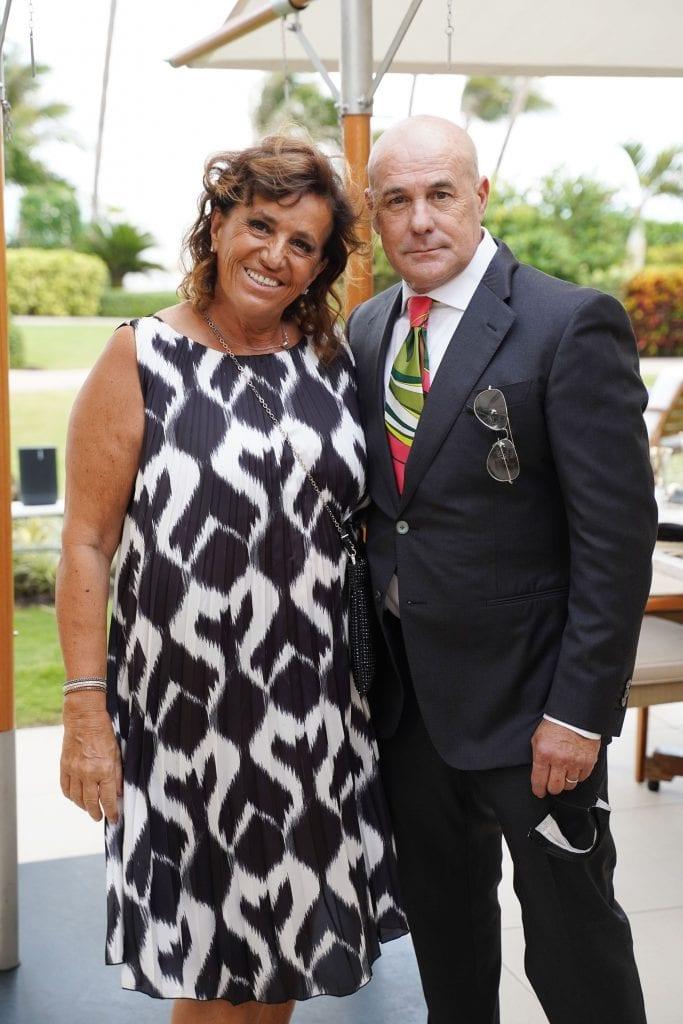 SOBEWFF 2021 The Continuum Event Tullia Gasparotto & Michele Merlo