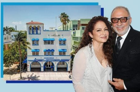 Ocean Drive property owned by Gloria and Emilio Estefan lists for $45M