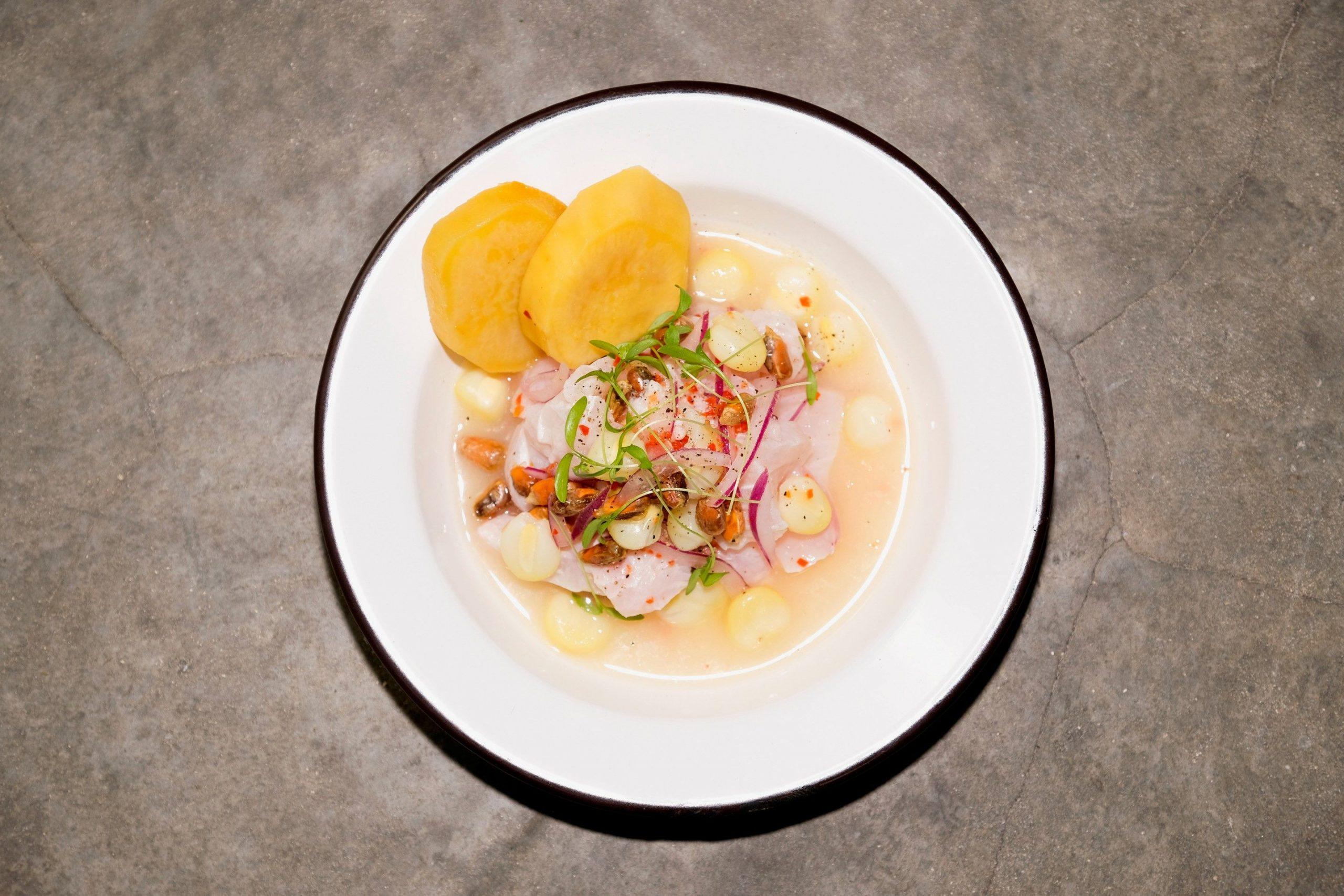 Cebiche Tradicional Recipe – Chefs Nando and Valerie Chang