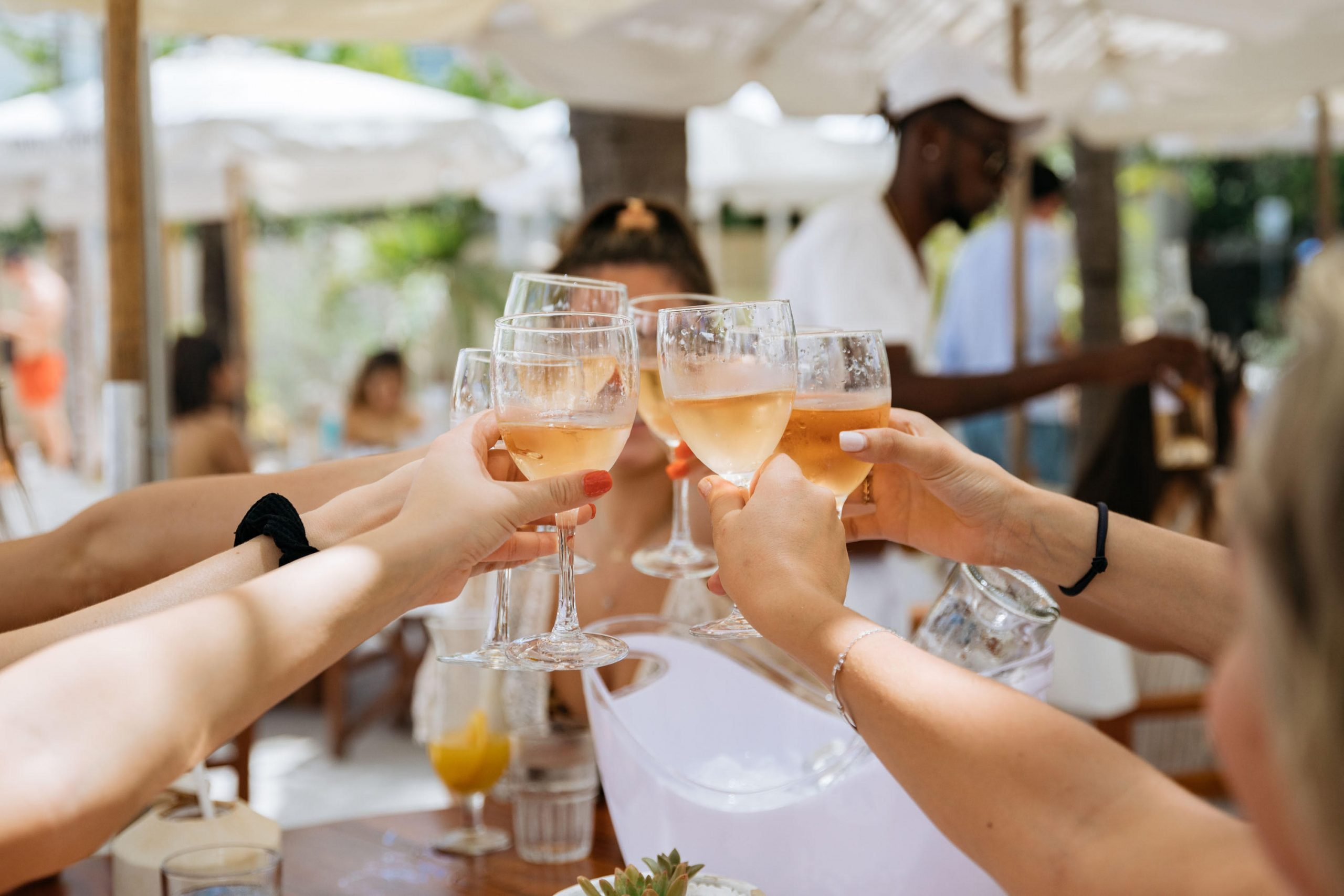 Drink Pink All Day for National Rosé Day!
