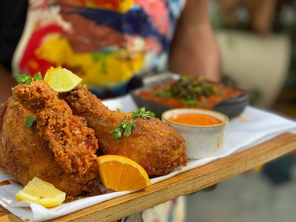 Red Rooster Overtown Chicken Plate