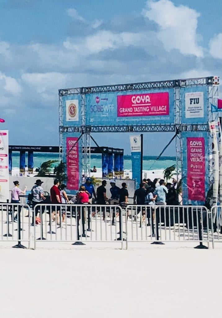 SOBEWFF 2021 Goya Tent