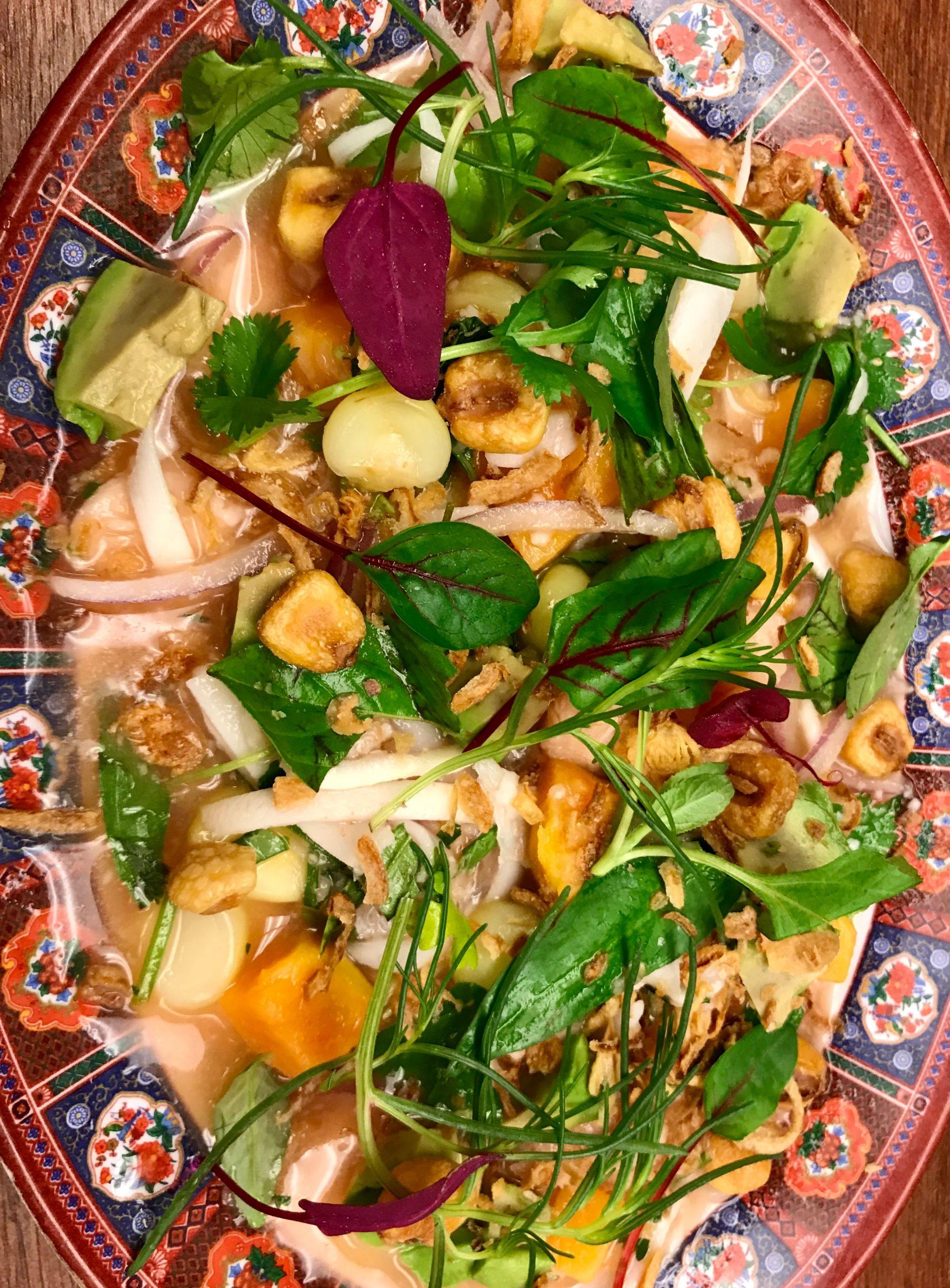 Vietnamese Style Ceviche Recipe – Chef Cesar Zapata