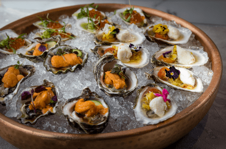 Oysters and Bubbles at Como Como at Moxy South Beach
