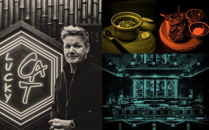 Gordon Ramsey and his Lucky Cat restaurant (Lucky Cat)