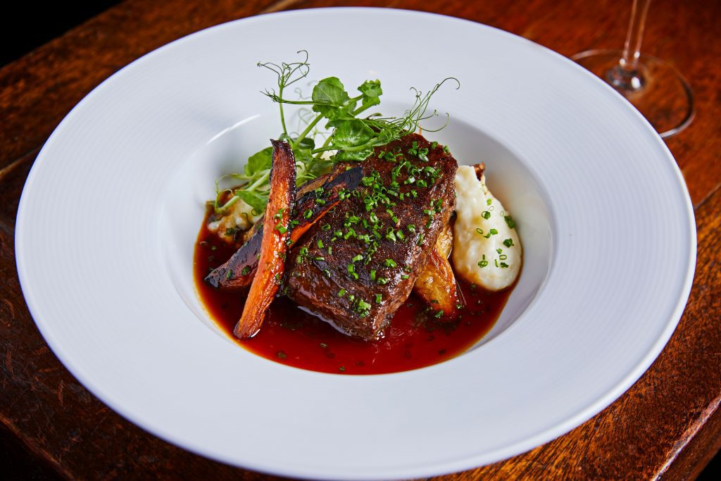 Ocean Grill Braised Short ribs - Miami Spice