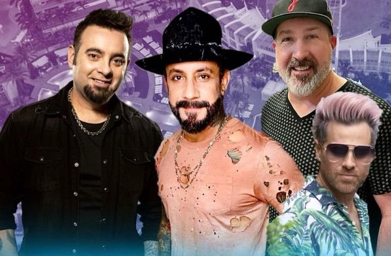 Backstreet Boys at Fontainebleau Miami Beach