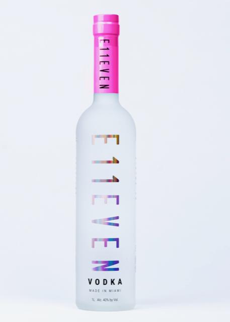 E11EVEN Vodka Breast Cancer Awareness Month Limited Edition Bottle