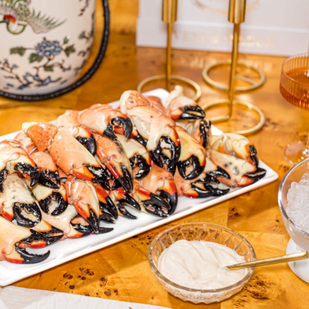George Stone Crab Platter
